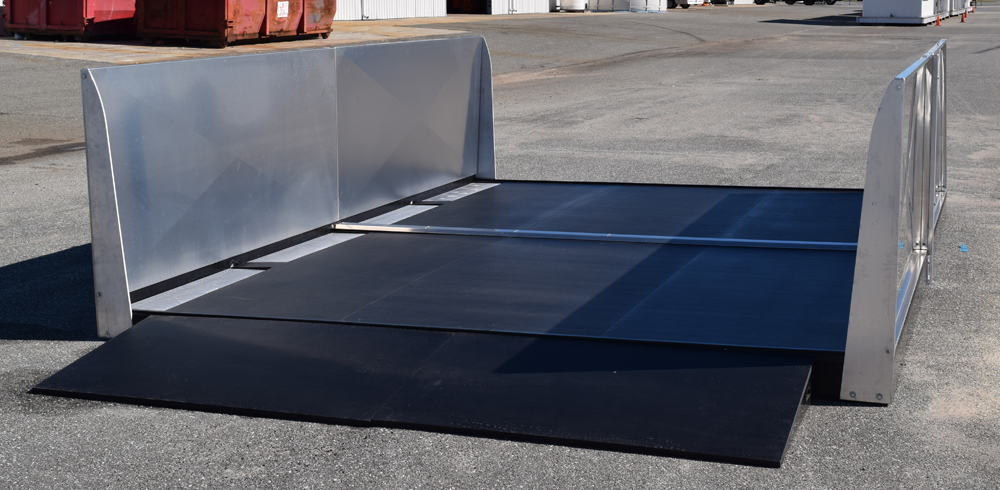 Containment Island Above Ground Wash Pad Esd Waste 2